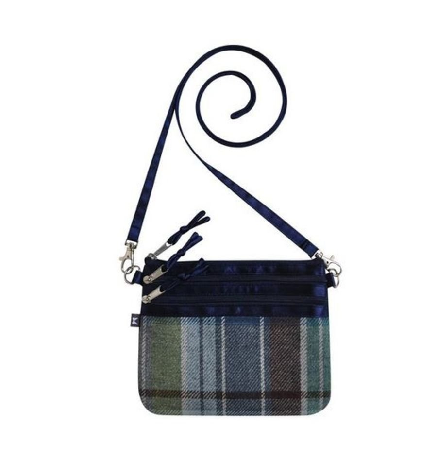 Tweed POUCH Bag - HARBOUR