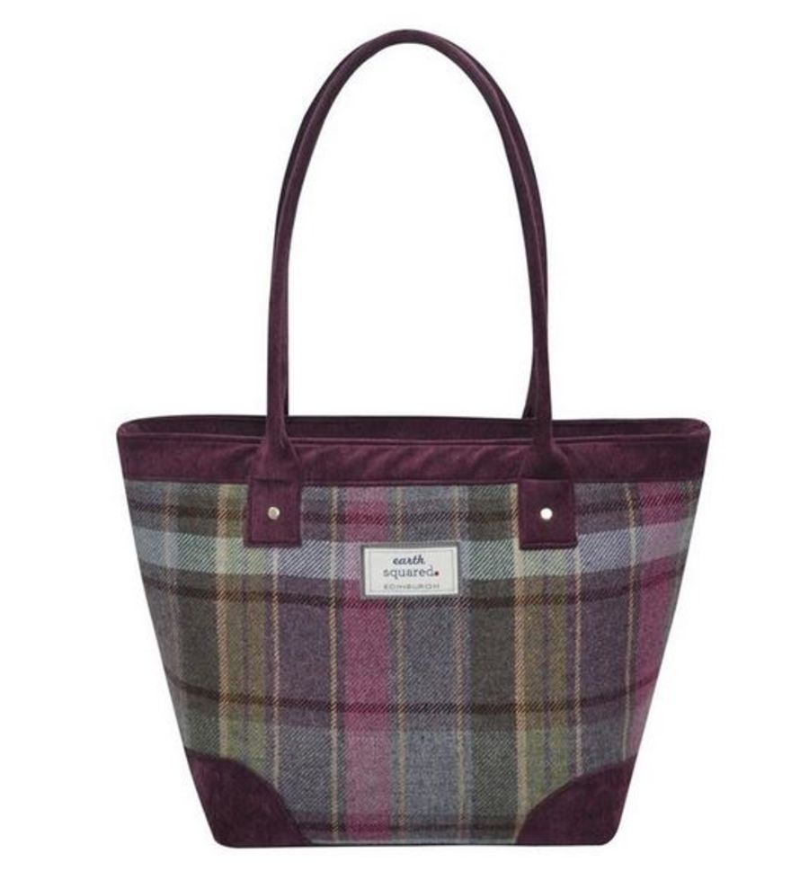 Tweed TOTE Bag - HEATHER