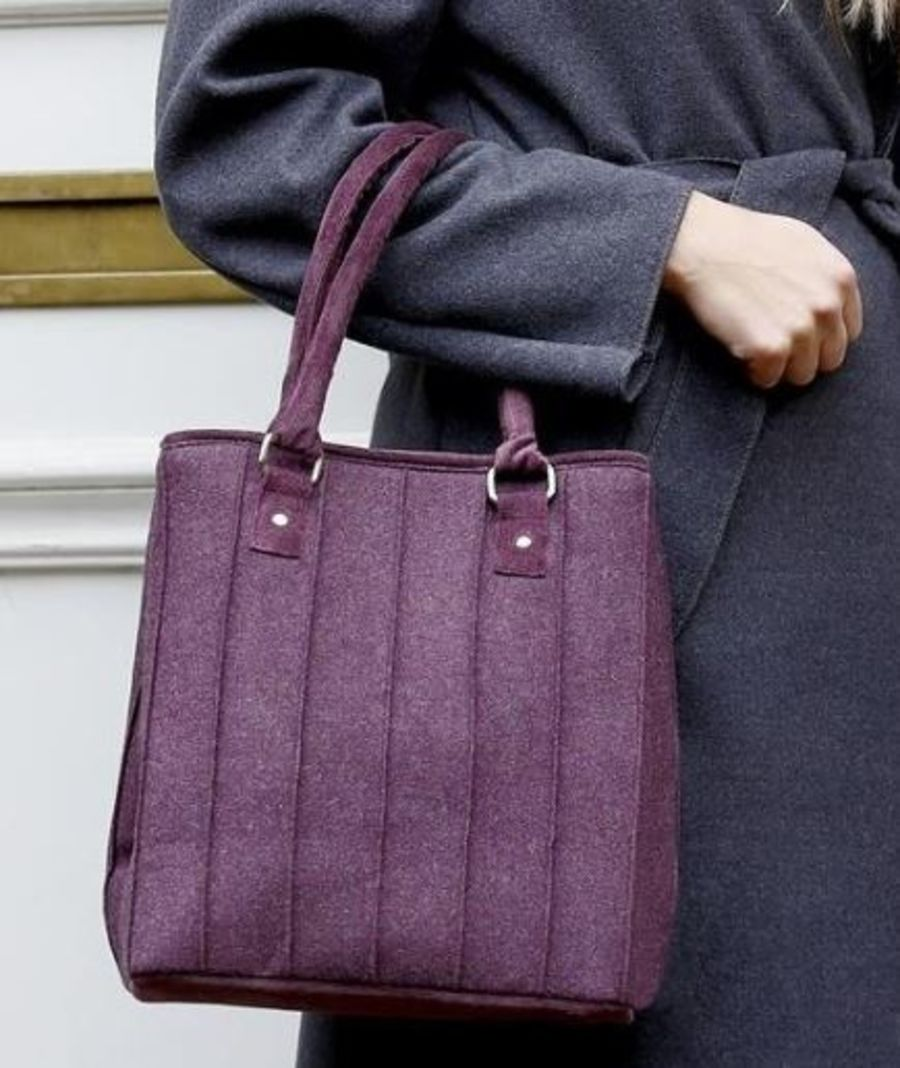 Wool SOPHIE Bag by Earth Squared - 2 Colours Available