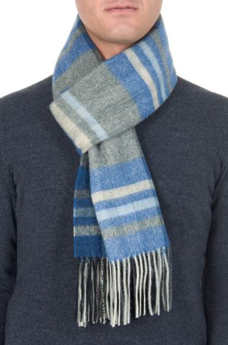 Classic Gents Style 100% Wool Scarf - PBY16W