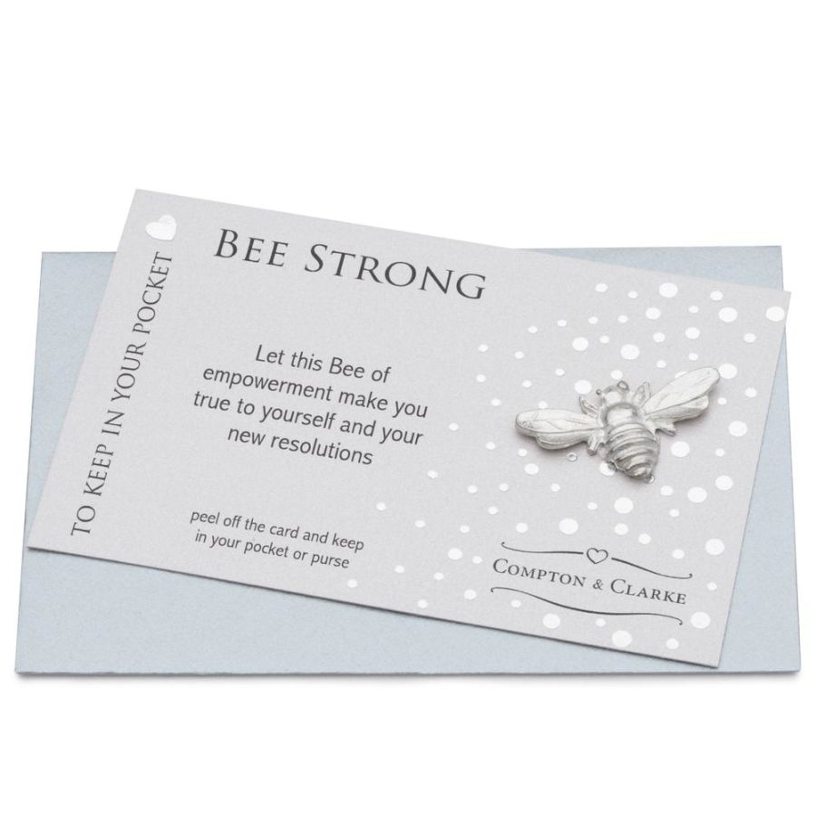 Bee Strong - Pocket Charm by Compton & Clarke