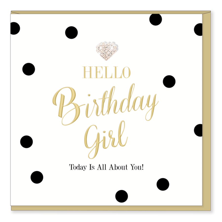 Hello Birthday Girl - Mad Dots Collection