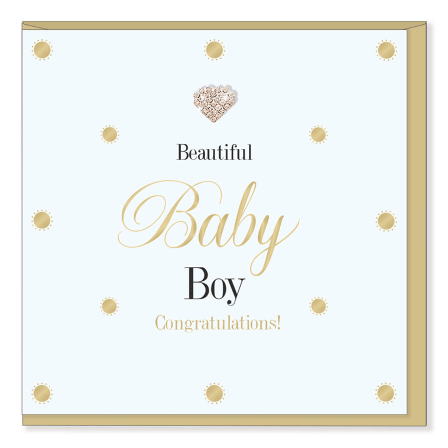Beautiful Baby Boy - Mad Dots Collection