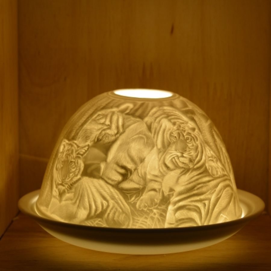 Nordic Lights Candle Shade - Tigers