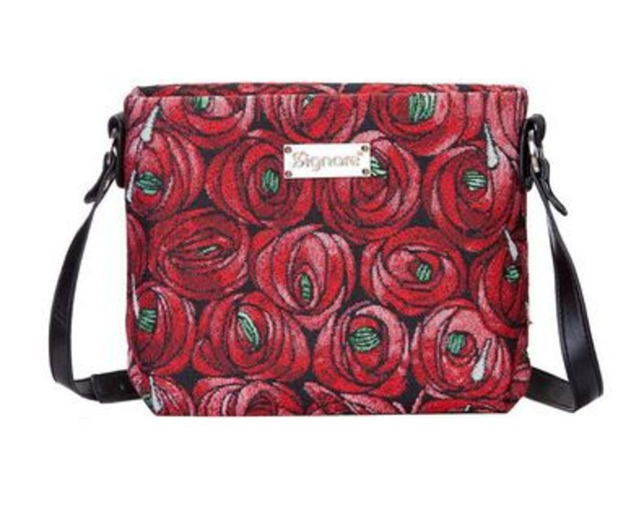 Mackintosh Rose and Teardrop Cross Body Bag by Signare