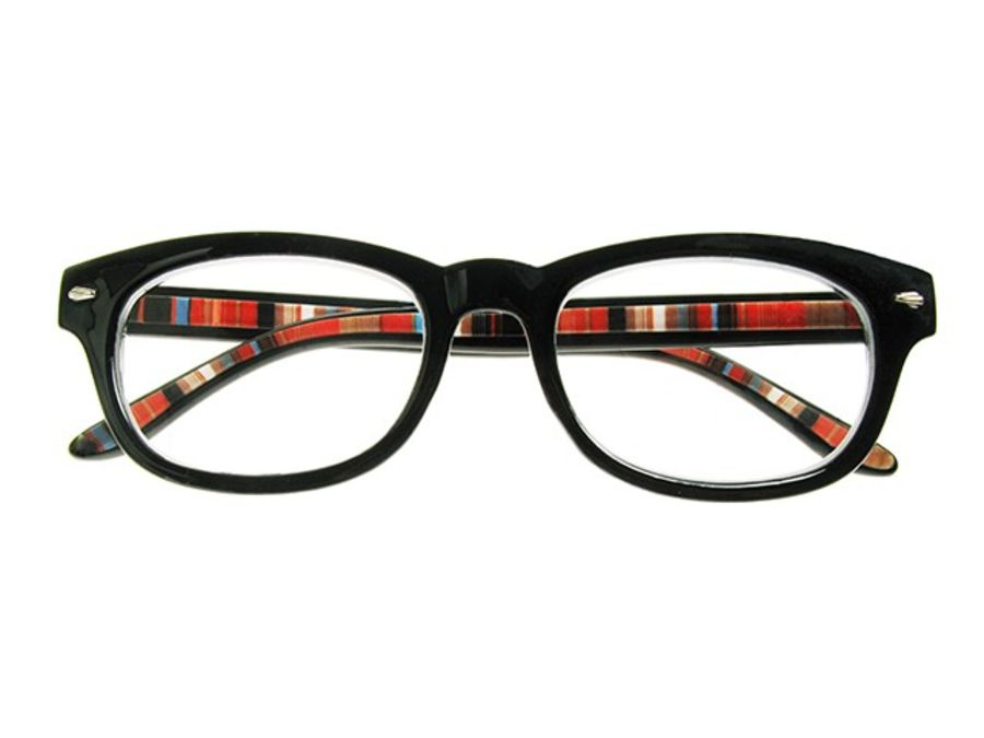 Reading Glasses 'Tate' Black by Goodlookers