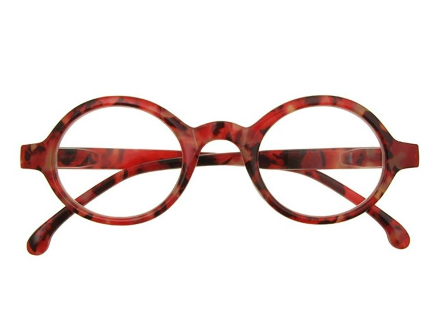 Reading Glasses 'Kensington' Red by Goodlookers