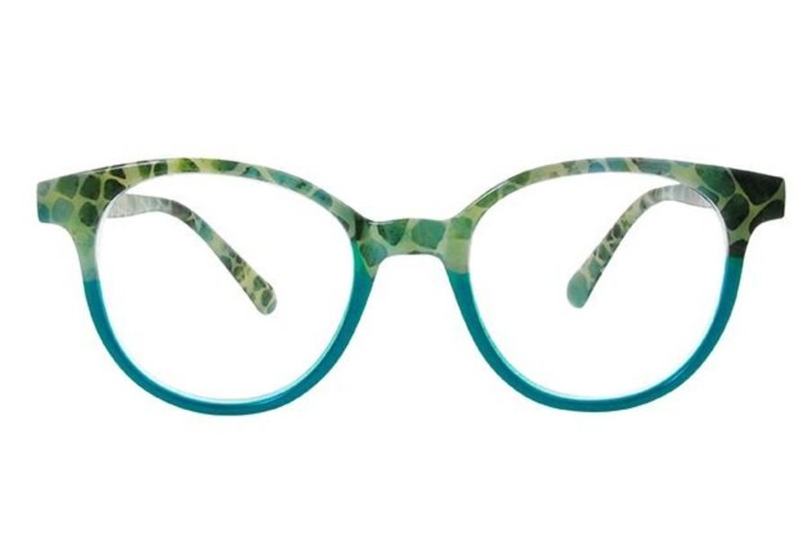 Reading Glasses 'India' Turquoise by Goodlookers