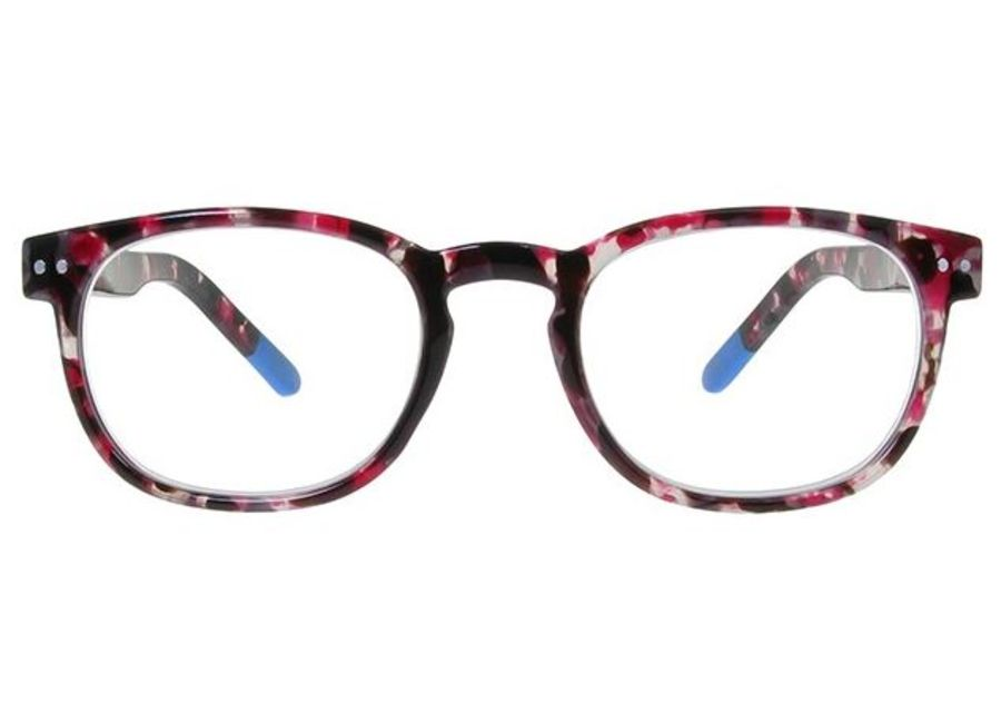 Reading Glasses 'Edenbridge' Red & Grey by Goodlookers