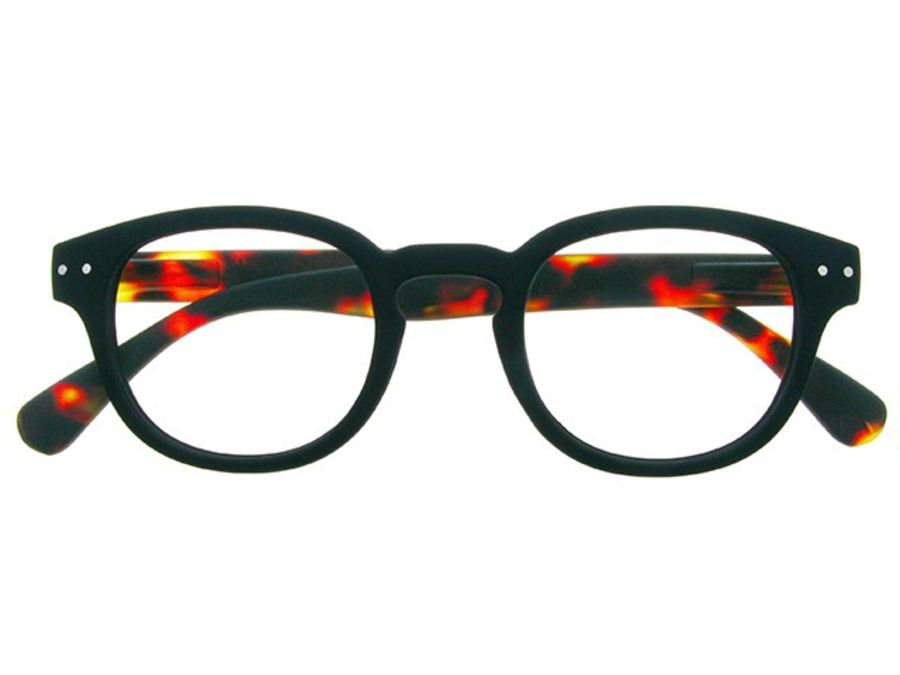 Reading Glasses 'Greenwich' Black/Tortoiseshell by Goodlookers