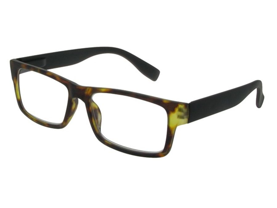 Reading Glasses 'Logan' Tortoiseshell & Black by Goodlookers