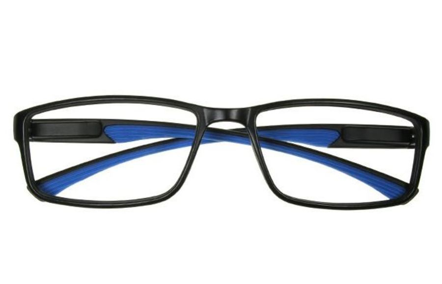 Reading Glasses 'Boardroom' Black/Blue by Goodlookers