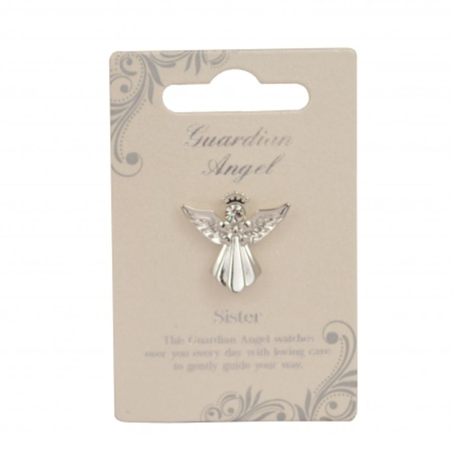 Sister Guardian Angel Pin