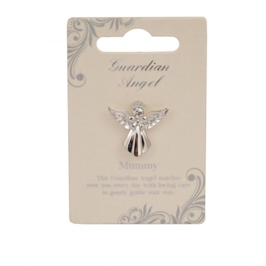 Mummy Guardian Angel Pin