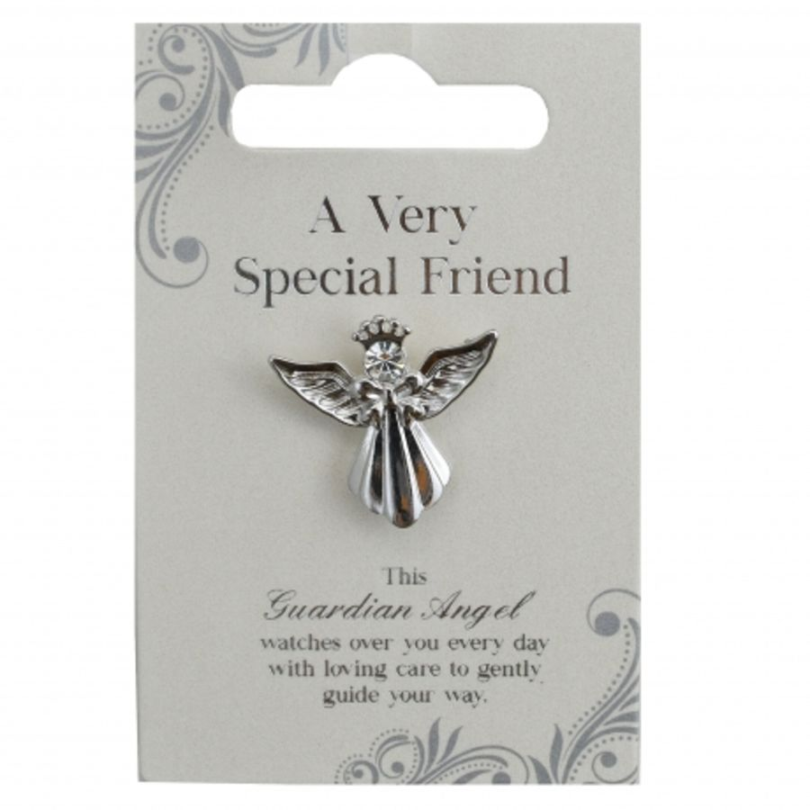 A Very Special Friend Guardian Angel Pin