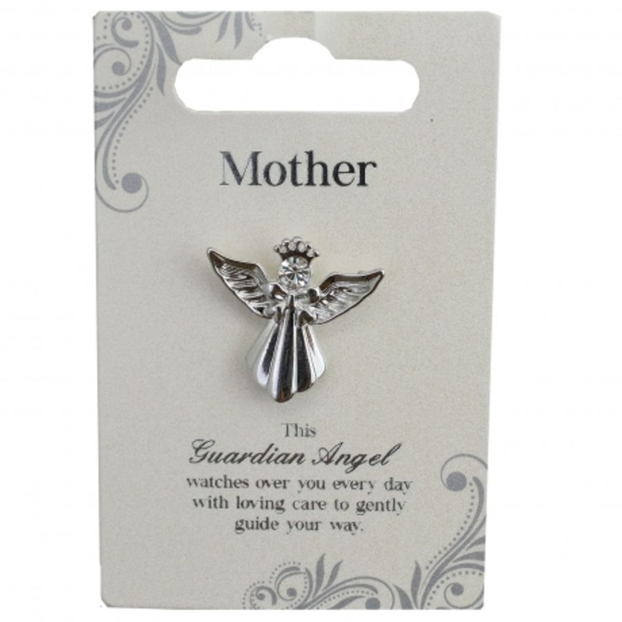 Mother Guardian Angel Pin