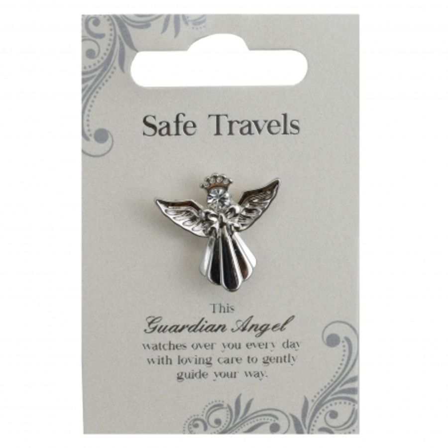 Safe Travels Guardian Angel Pin