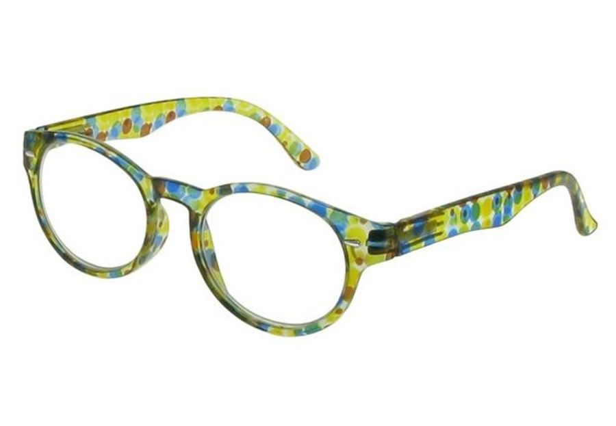 Reading Glasses Zest Yellow & Blue by Goodlookers