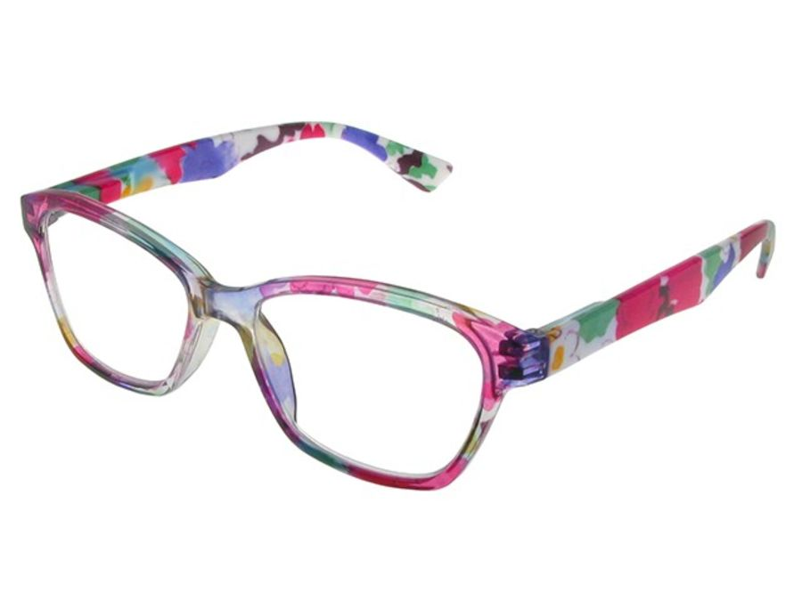 Reading Glasses Belle Pink & Purple by Goodlookers