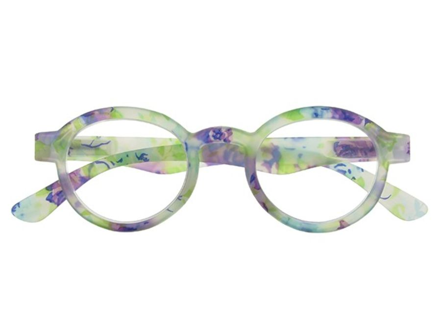 Reading Glasses Botanica Blue Floral by Goodlookers