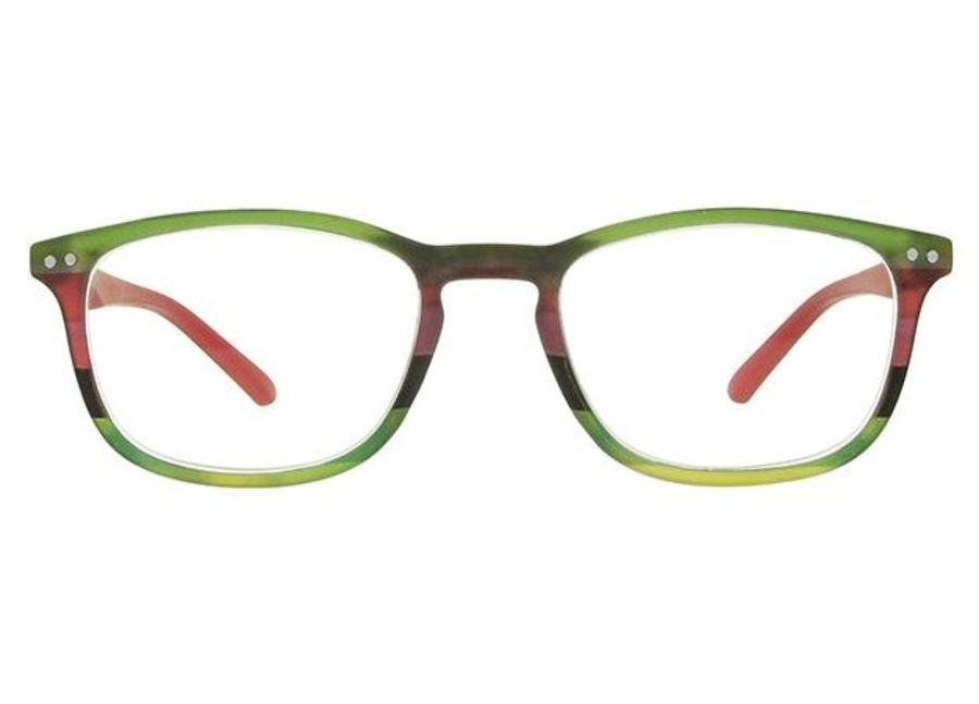 Reading Glasses Euston Red Multi by Goodlookers