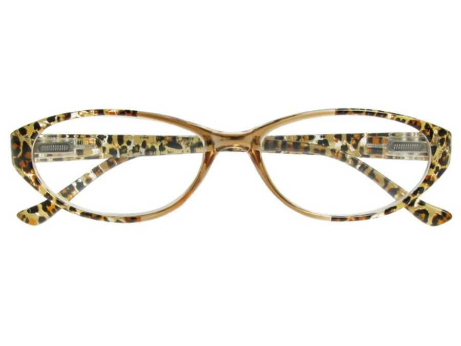 Reading Glasses 'Lynx' Brown  by Goodlookers
