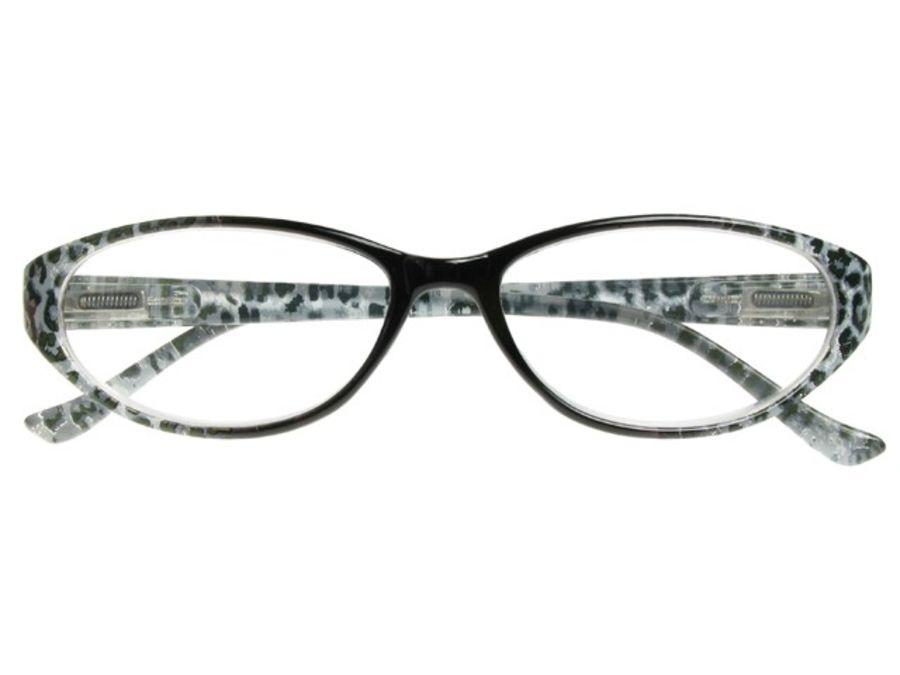 Reading Glasses 'Lynx' Black  by Goodlookers