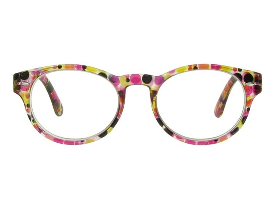 Reading Glasses Zest Red & Black by Goodlookers