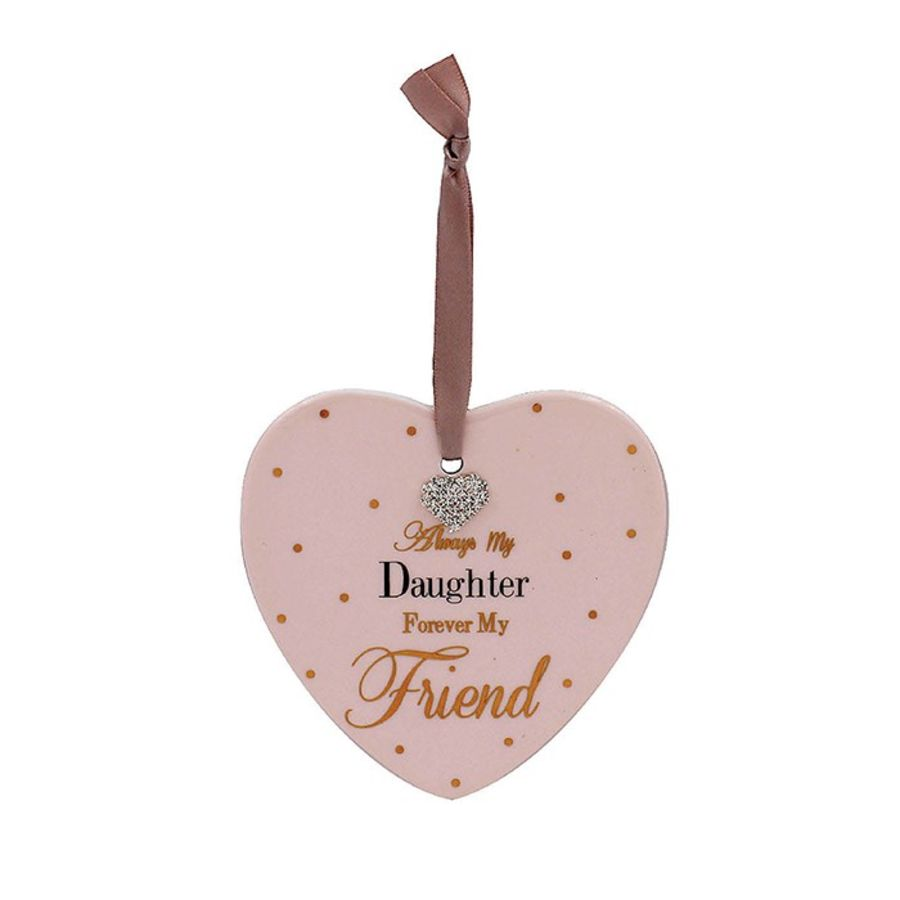 Always My Daughter......Heart Plaque
