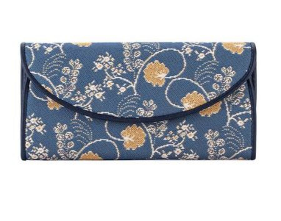 Jane Austen Blue Envelope Purse by Signare