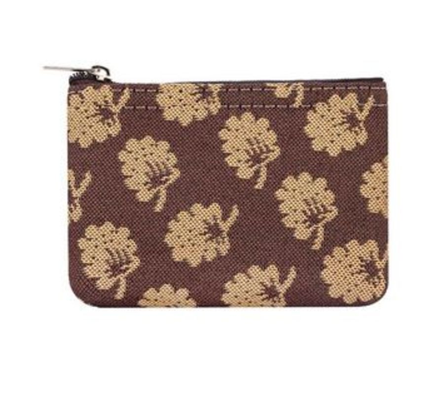 Jane Austen Oak Zip Coin Purse by Siganre