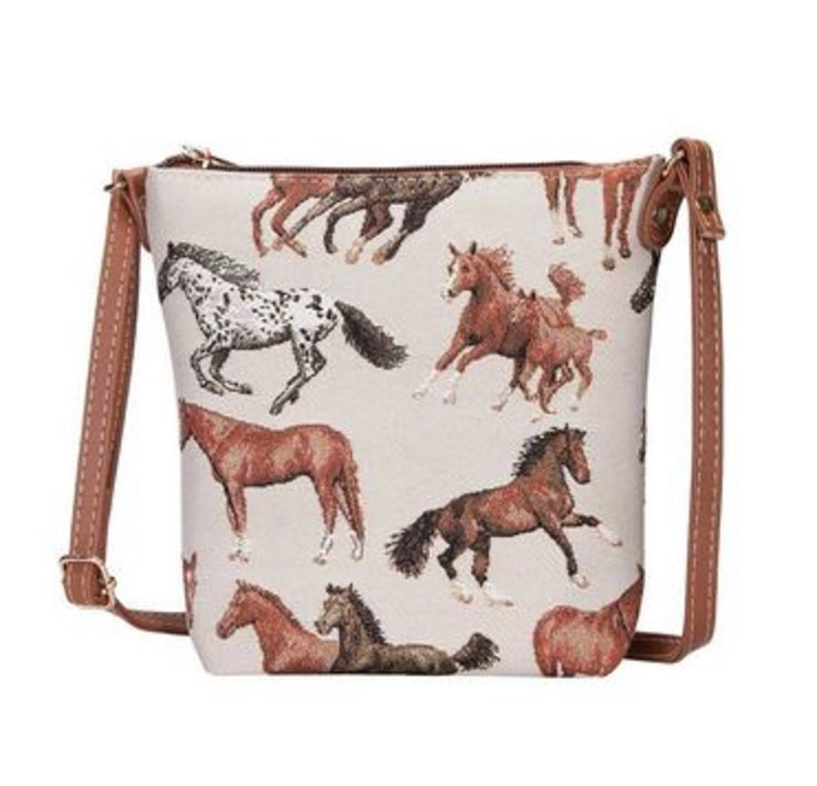 Running Horse Sling Bag by Signare