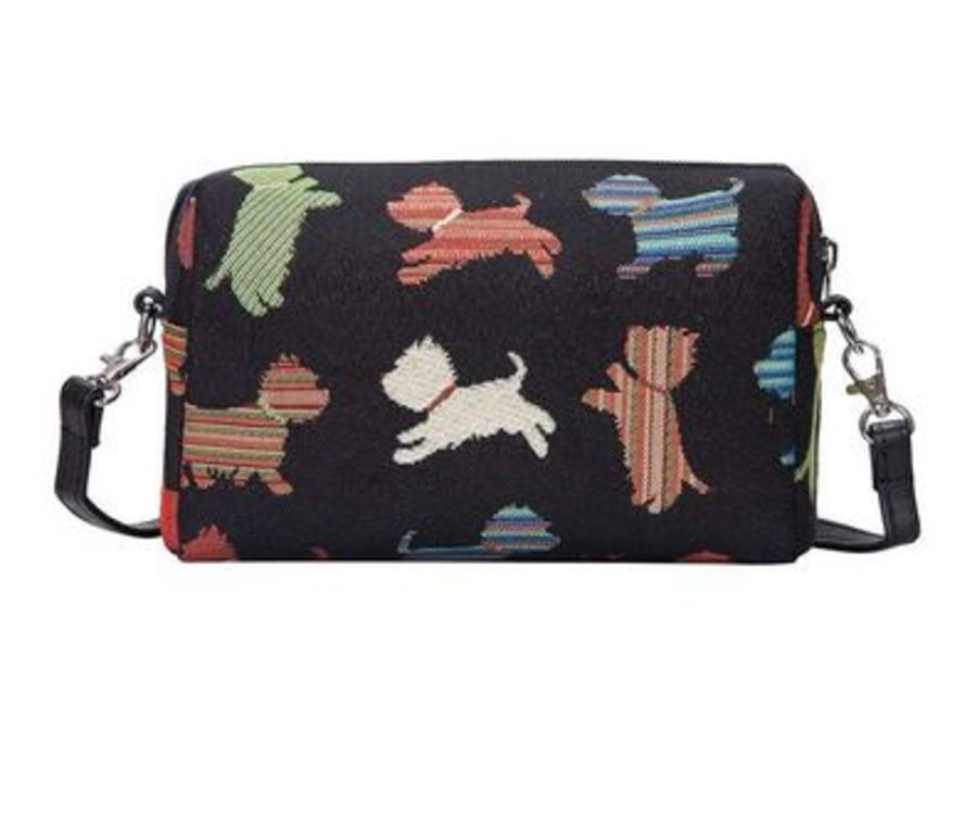 Playful Puppy design Hip Bag by Signare