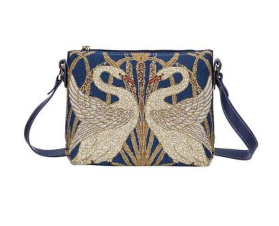 Walter Crane Swan Cross Body Bag by Signare