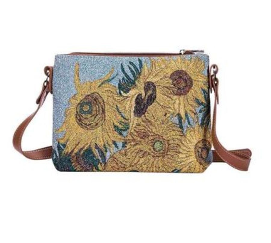 Van Gogh Sunflowers Cross Body bag by Signare