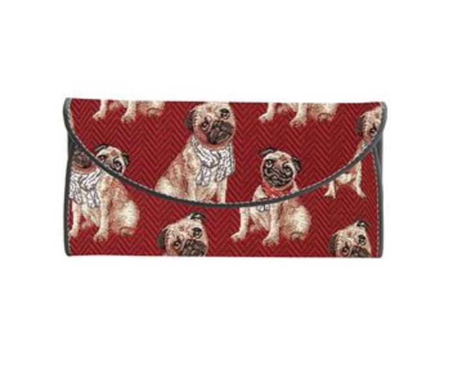 Pug Envelope Purse by Signare
