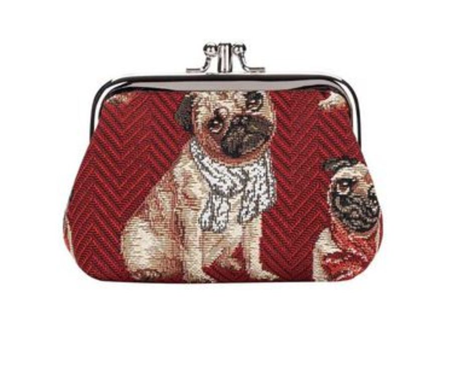 Pug Frame Purse by Signare