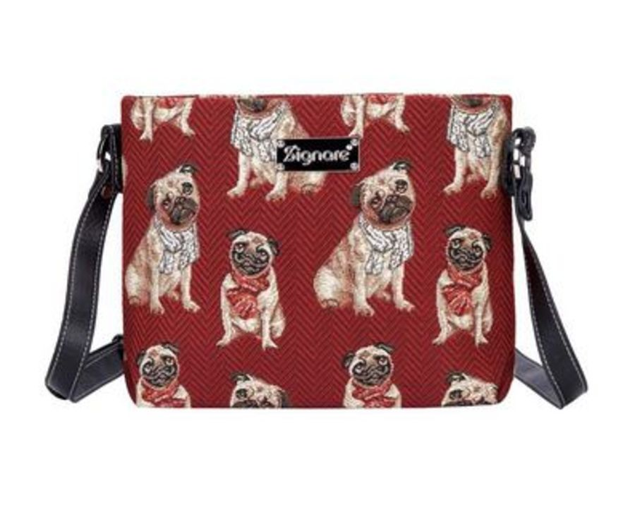 Pug Cross Body Bag by Signare
