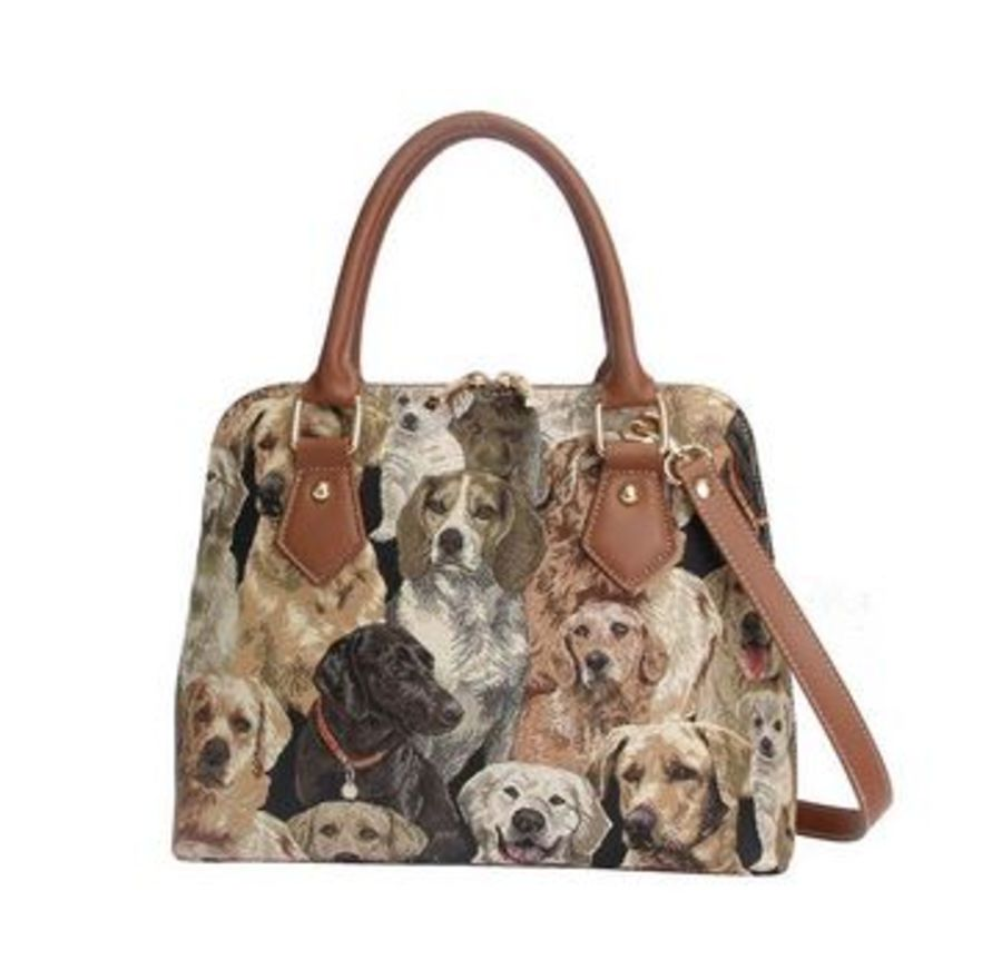 Labrador Top Handle Shoulder Bag by Signare