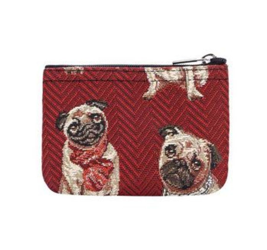 Pug Zip Coin Purse by Signare