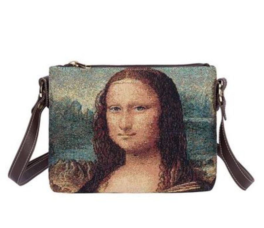 Da Vinci Mona Lisa Cross Body Bag by Signare