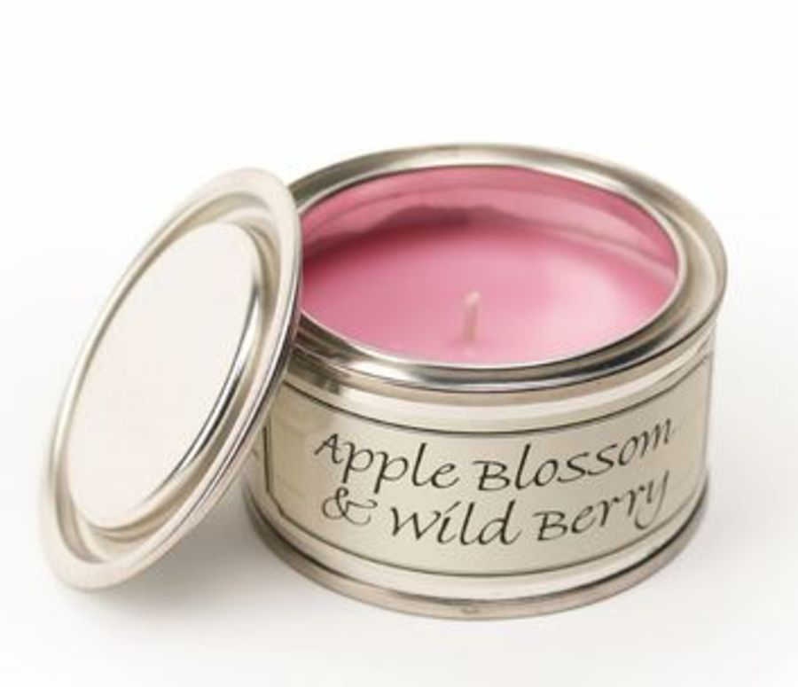 Apple Blossom & Wild Berry Pintail Fragranced Tin Candle