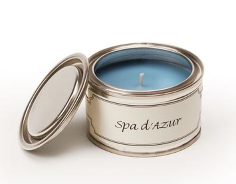 Spa d'Azur Pintail Frangranced Tin Candle