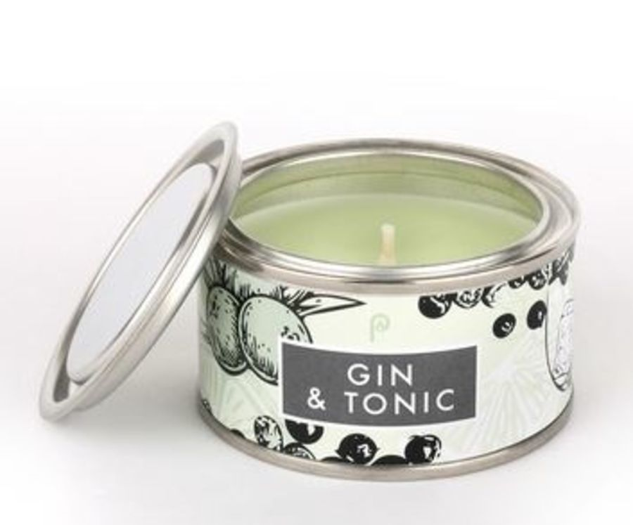 Gin & Tonic Pintail Elements Fragranced Tin Candle