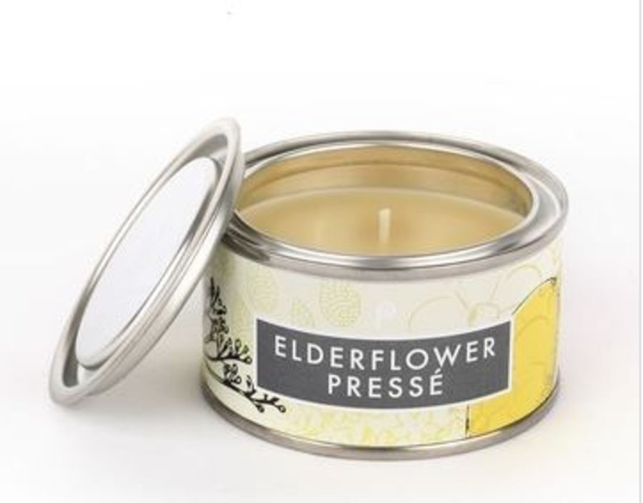 Elderflower Presse  Pintail Elements Fragranced Tin Candle