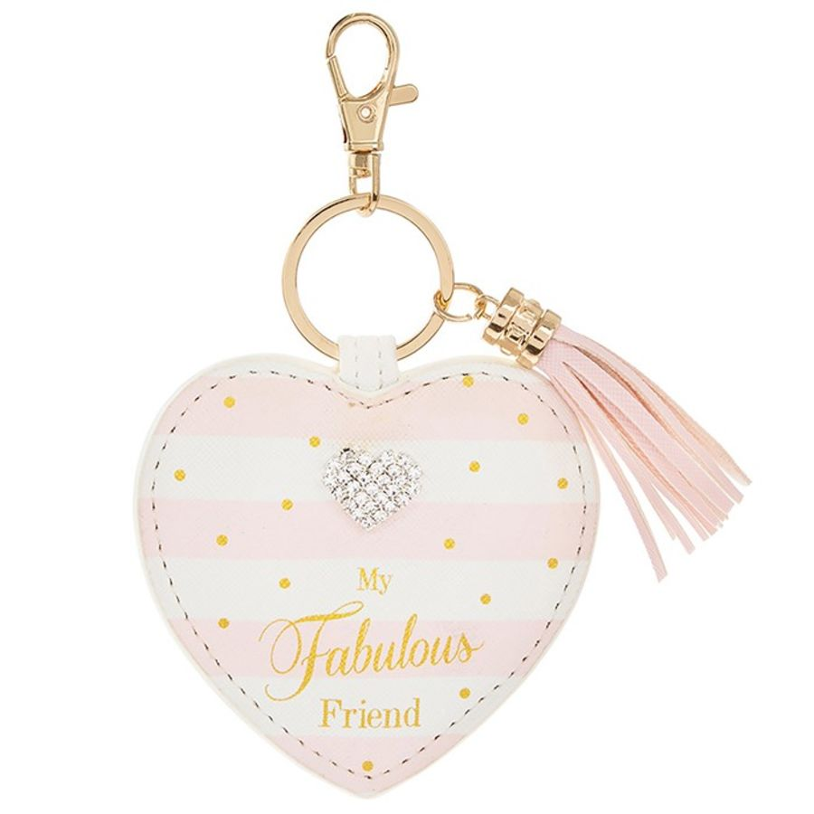 Mad Dots Friend Keyring