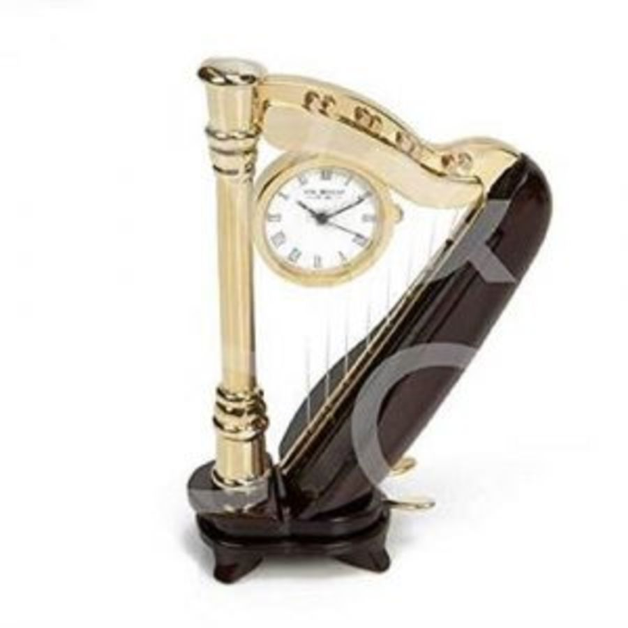 Harp Miniature Clock