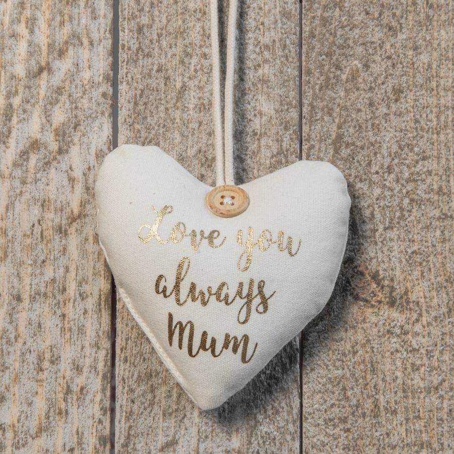 Mum Hanging Heart Decoration