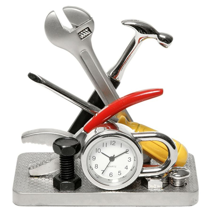 Workshop Tools Miniature Clock