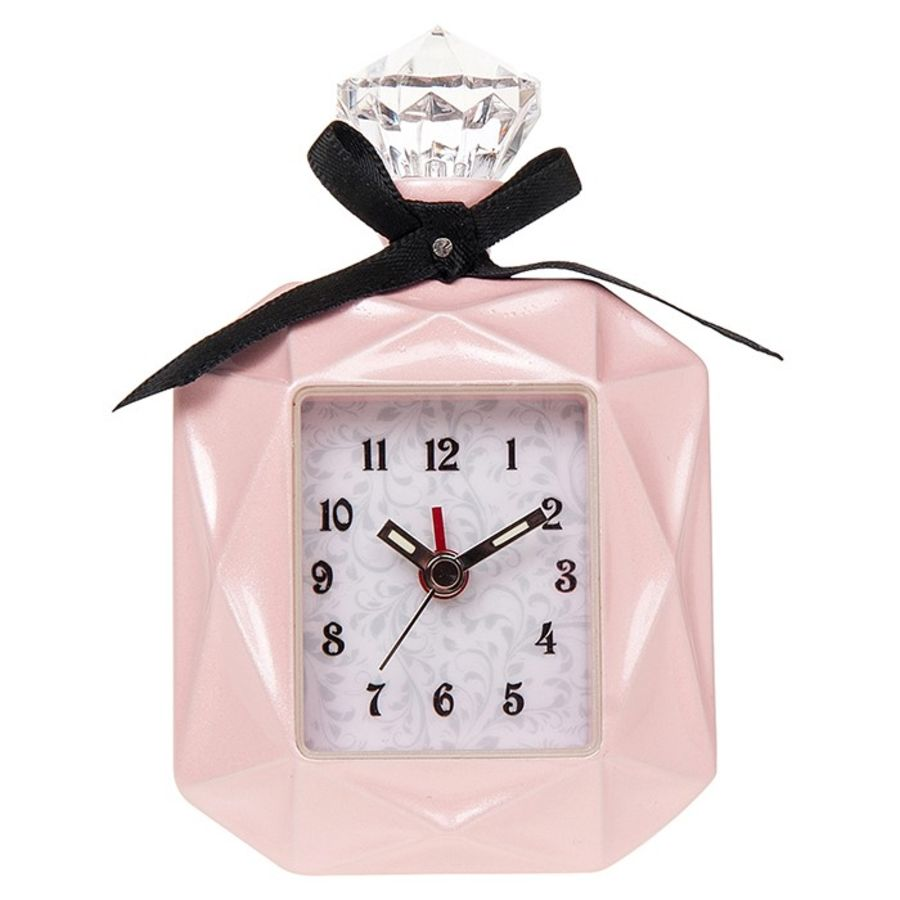 Perfume Bottle Miniature Clock